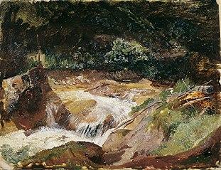 Gebirgsbach in der Ramsau
