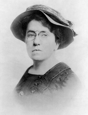 Anarchism and Other Essays - Emma Goldman, circa 1910, portrait from Anarchism and Other Essays