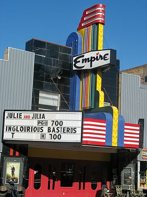 Livingston, Montana - Empire Theater downtown
