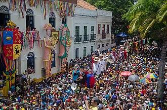 Olinda - Giant Dolls - Olinda Carnival.