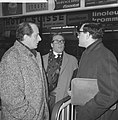 Engelse schrijver Harold Pinter in Holland om Het Verjaardagsfeest bij te wone, Bestanddeelnr 913-5846.jpg