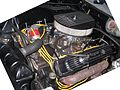 Engine room of a 60's car at Power Big Meet 2005 2.jpg