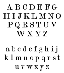 English alphabet - Modern No. 20 script.png
