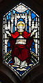 Enniskillen Cathedral of St. Macartin South Aisle Window Christ the King 2012 09 17.jpg