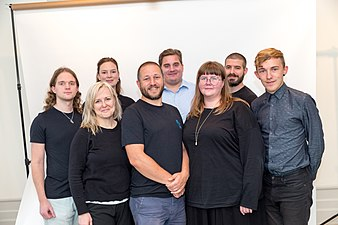 Entire staff of Wikimedia Sweden 1.jpg