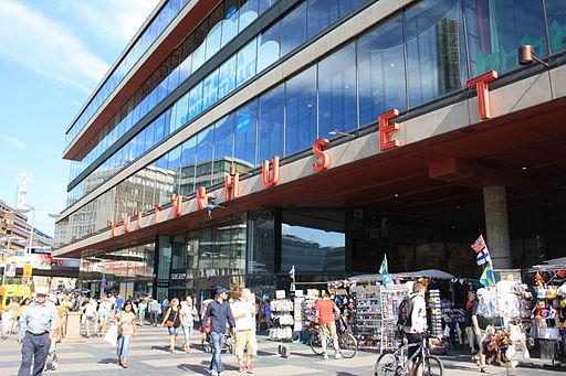 Entrée principale du Kulturhuset