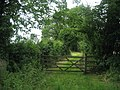 Entrance to Bridleway for Askwith - geograph.org.uk - 879003.jpg