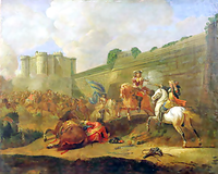 Episode of the Fronde at the Faubourg Saint-Antoine by the Walls of the Bastille.png
