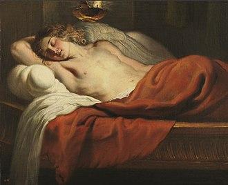 Erasmus Quellinus II - Sleeping Amor