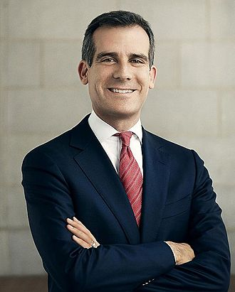Mayor of Los Angeles - Image: Eric Garcetti in Suit and Tie