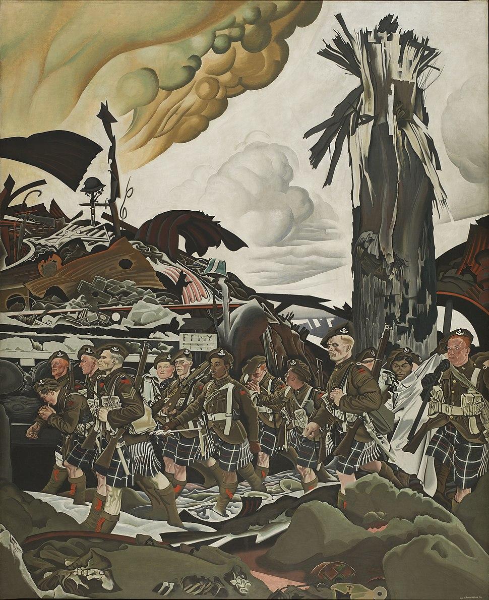 Eric Kennington - The Conquerors CWM 19710261-0812