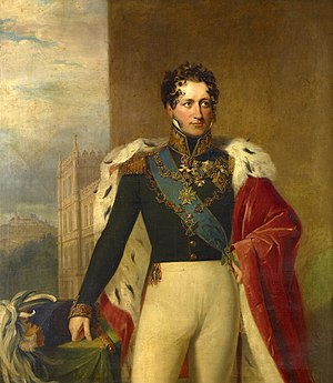 Ernest I, Duke of Saxe-Coburg and Gotha - Portrait by George Dawe