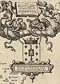 Escudo da Galiza no mapa Descripcion del Reyno de Galizia de Fernando Ojea (1603).jpg