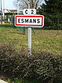 Esmans-FR-77-panneau d'agglomération-01.jpg