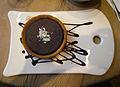 Espresso chocolate tart with cholocate sauce.jpg