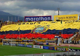 1993 Copa América - Image: Estadio Atahualpa Ecuador vs Brazil March 2009