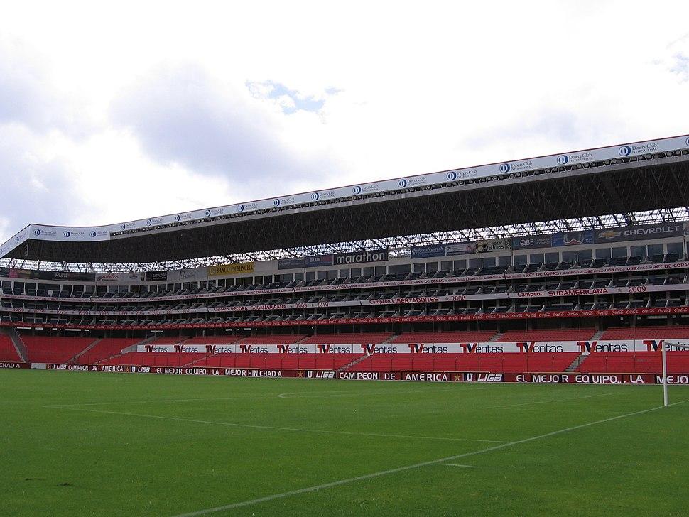 Estadio de LDU Tribuna E