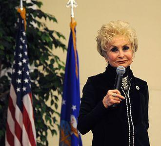 Esther Jungreis - Esther Jungreis at Scott Air Force Base during the 2012 National Prayer Breakfast.