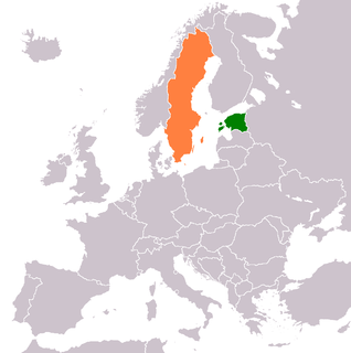 Estonia–Sweden relations Diplomatic relations between the Republic of Estonia and the Kingdom of Sweden