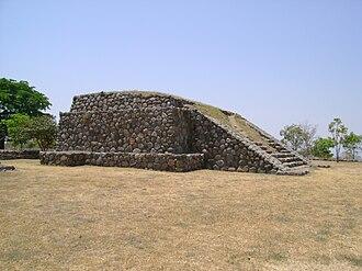 El Chanal - Pyramidal Structure.