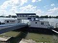 Esztergom ship station, pontoon I., Primate's Island, Esztergom, Hungary.jpg