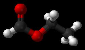 Ethyl formate - Image: Ethyl formate 3D balls