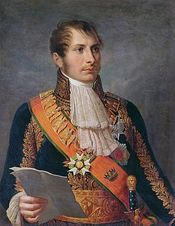 French general and adoptive son of Napoleon I