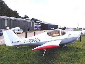 Europa XS - Europa Classic with mono-wheel landing gear