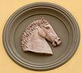 Ex-istituto d'arte, tondi con teste di cavallo 02.JPG