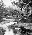 Excursion, solitude, melancholy, river, woods, stream Fortepan 6862.jpg