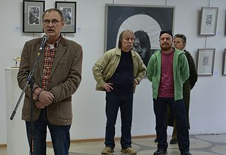 Exhibition UNDER 35 in Palace of Art Minsk 13.05.2014 Leonid Khobotov.JPG