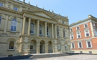 Osgoode Hall - Osgoode Hall was designed in a late-Palladian style.