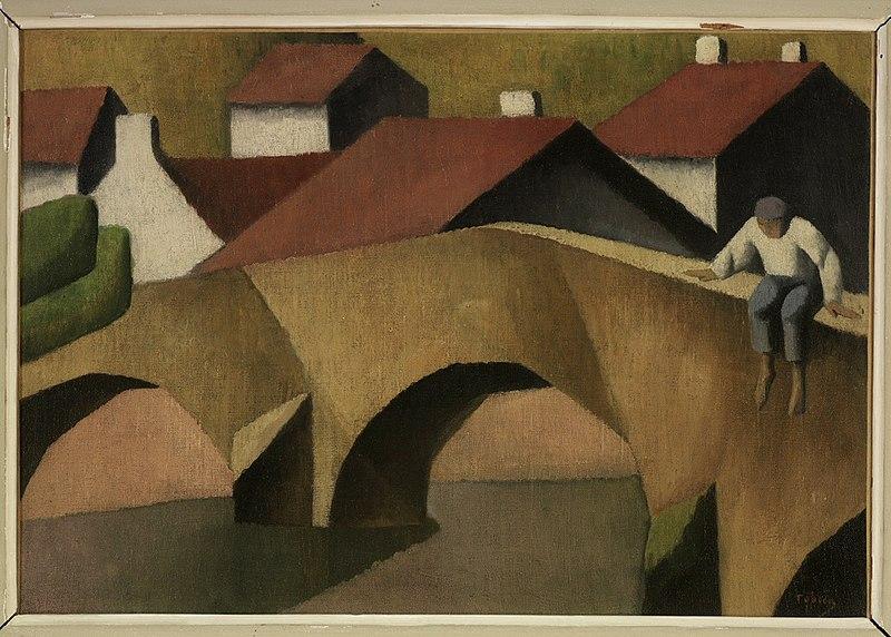 File:Félix Elie Tobeen - The Old Bridge - 66.013 - Rhode Island School of Design Museum.jpg
