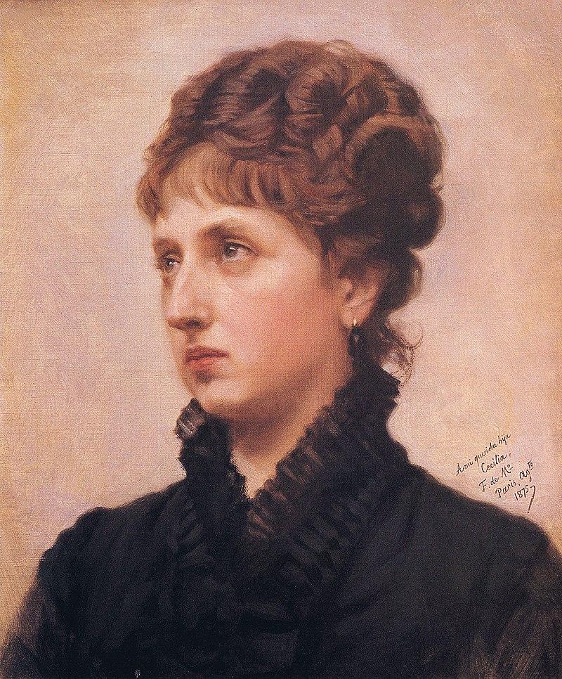 F. de Madrazo - 1875, Cecilia de Madrazo y Garreta (Colección particular, Bilbao, 48 x 38 cm).jpg