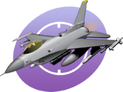 F16 Flight Icon
