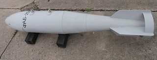 FAB-250 250 Kg unguided aerial bomb