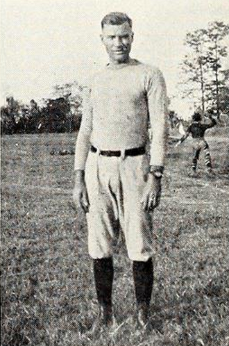 Ferdinand Holtkamp - Holtkamp pictured in Reveille 1922, Mississippi State yearbook