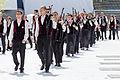 FIL 2012 - Championnat national des bagadoù - première catégorie - Bagad Ronsed Mor.jpg