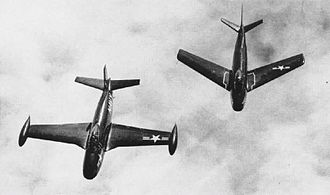 North American FJ-1 Fury - FJ-1 and FJ-2 in 1952