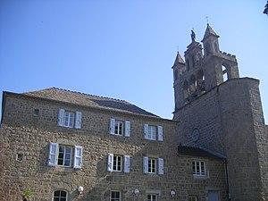 Chaudeyrac - The bell tower in Chaudeyrac