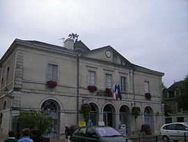 The town hall of Navarrenx