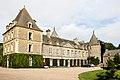 Façade du château de Tocqueville, Tocqueville, France.jpg
