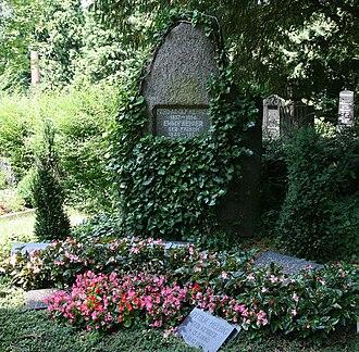 Ferdinand Adolf Kehrer - His grave in Heidelberg