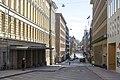 Fabianinkatu street in Kluuvi, Helsinki, Finland, 2020 April.jpg