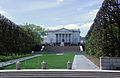 Facing W - Quadrangle - Memorial Amphitheater - Arlington National Cemetery - 2012.JPG