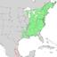 Fagus grandifolia range map 3.png