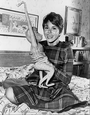 Judy Carne - Carne as Heather Finch in Fair Exchange, 1962