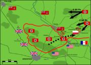 Falaise Pocket German Counterattack