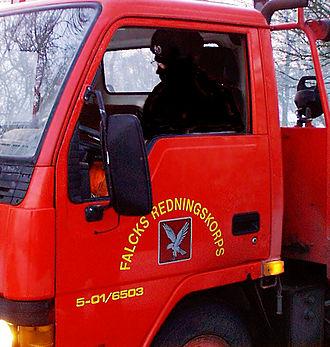 Falck (Denmark) - Falck rescue truck