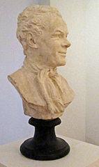 Buste du sculpteur Etienne-Maurice Falconet par sa bru Marie-Anne Collot